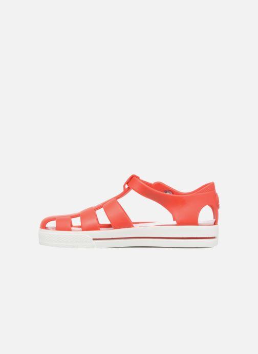 Sandales et nu-pieds SARENZA POP Romy Rouge vue face