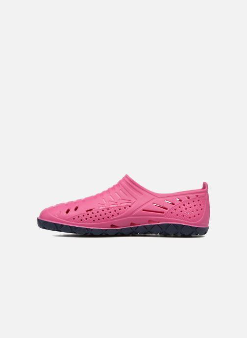 Sandalen SARENZA POP Raffi rosa ansicht von vorne