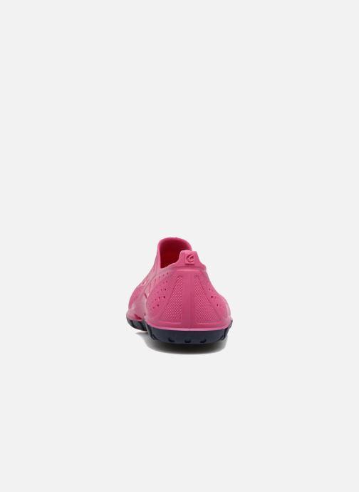 Sandalen SARENZA POP Raffi rosa ansicht von rechts