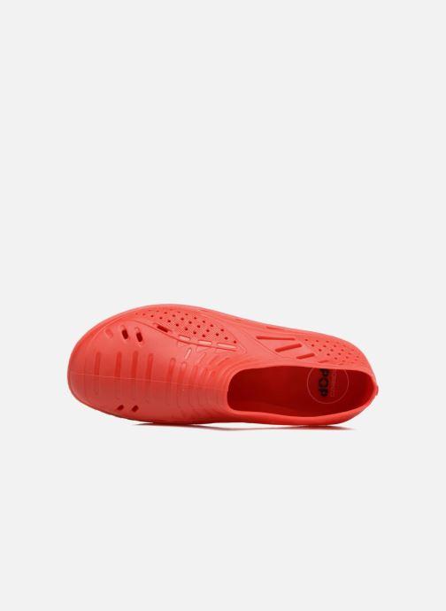 Sandalen SARENZA POP Raffi rot ansicht von links