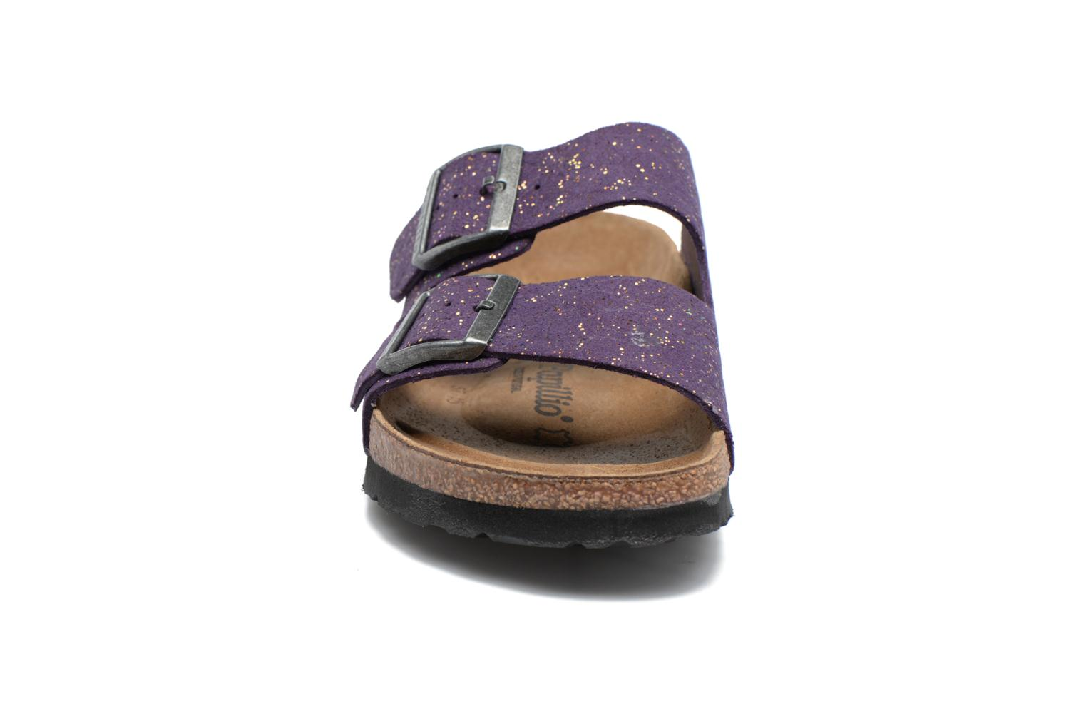 Wedges Papillio ARIZONA cuir nubuck Paars model