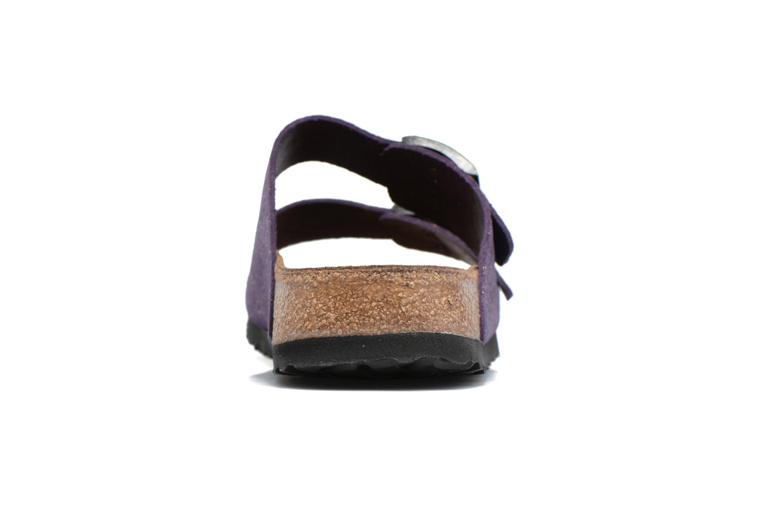 Mules & clogs Papillio ARIZONA cuir nubuck Purple view from the right