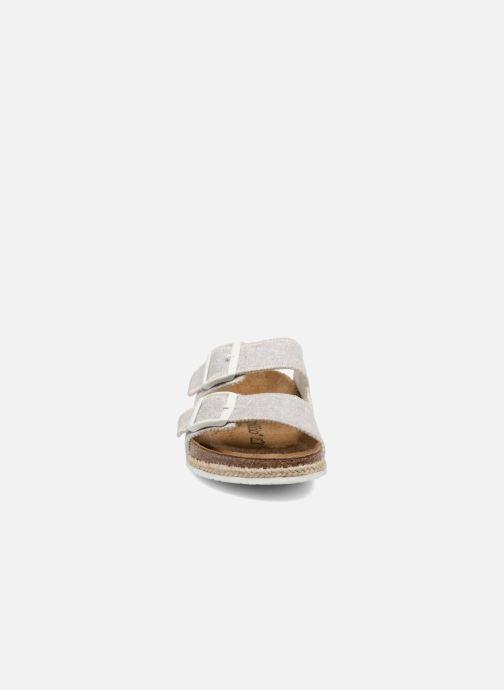 Mules et sabots Papillio Arizona textile Gris vue portées chaussures