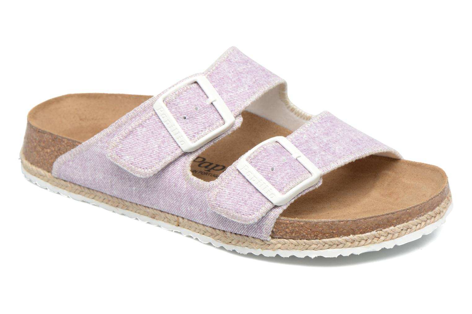 Mules & clogs Papillio Arizona textile Pink detailed view/ Pair view