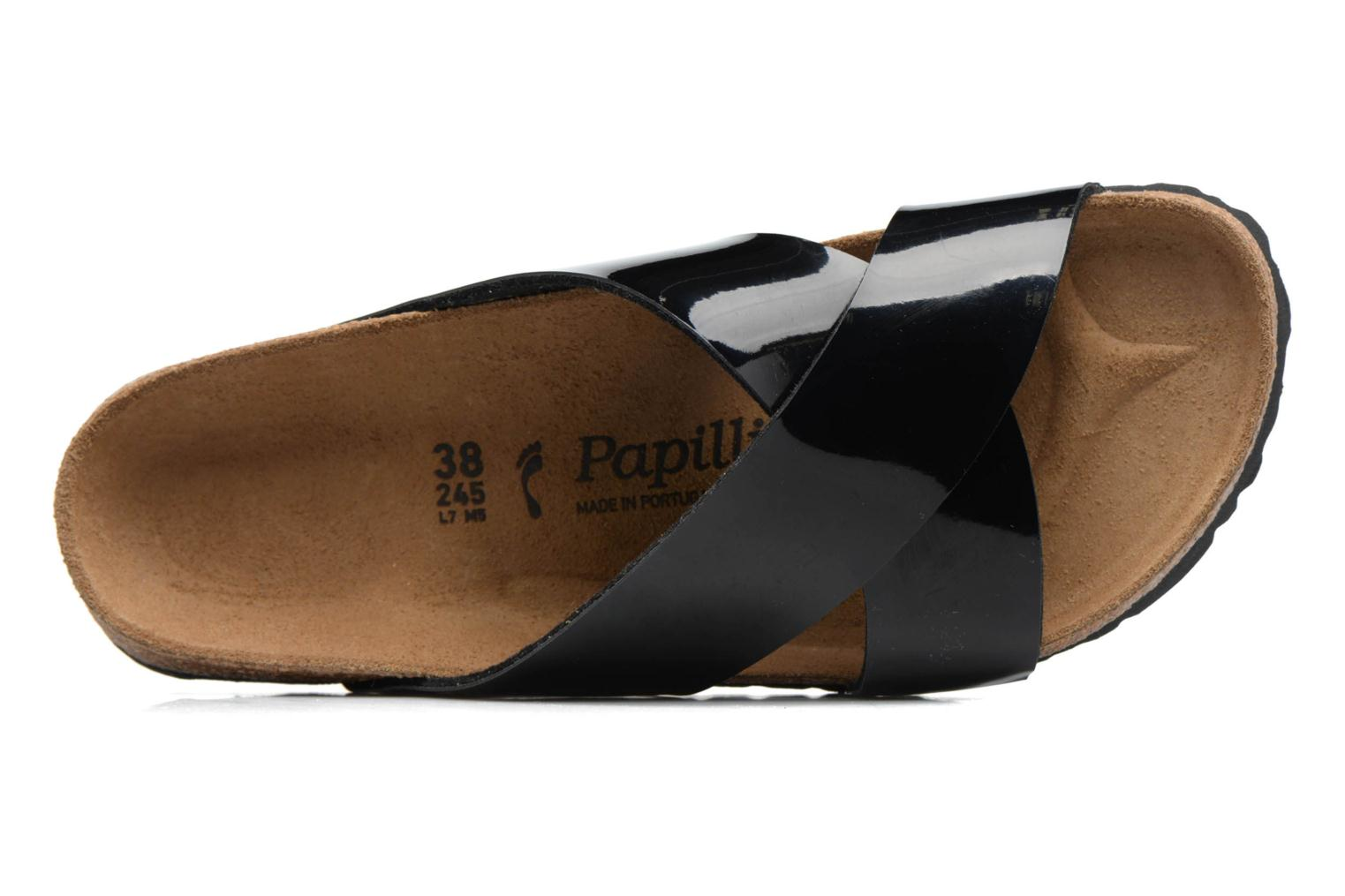 Mules & clogs Papillio DAYTONA Black view from the left