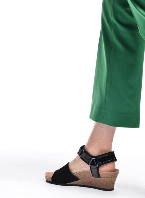Sandales et nu-pieds Papillio EVE Rose vue bas / vue portée sac