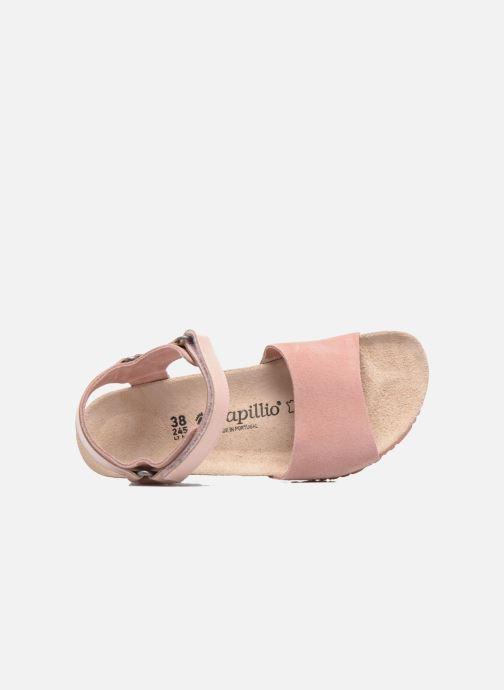 Sandales et nu-pieds Papillio EVE Rose vue gauche