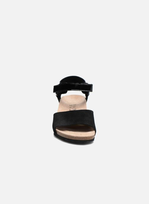 Sandales et nu-pieds Papillio EVE Noir vue portées chaussures