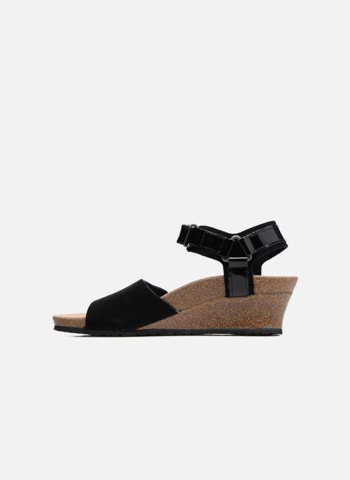 Sandales et nu-pieds Papillio EVE Noir vue face