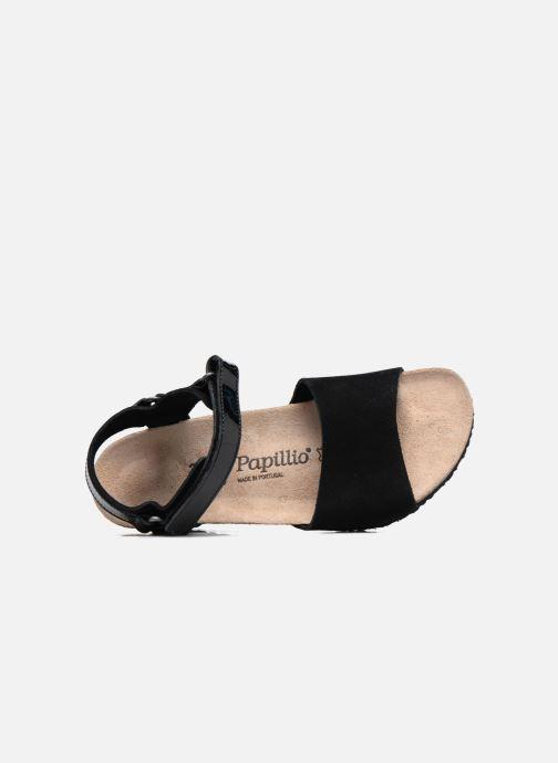 Sandalen Papillio EVE schwarz ansicht von links