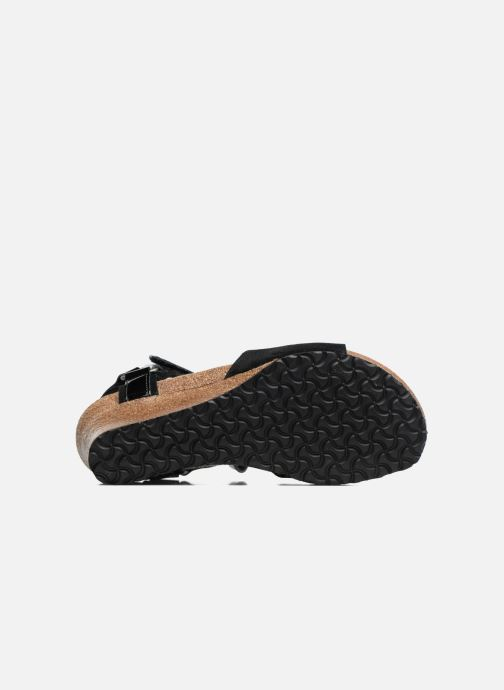 Sandales et nu-pieds Papillio EVE Noir vue haut