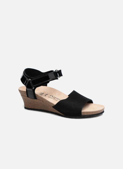 Sandalen Papillio EVE schwarz detaillierte ansicht/modell