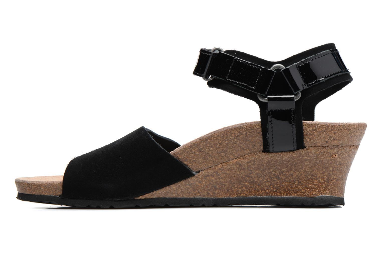 Sandalen Papillio EVE schwarz ansicht von vorne