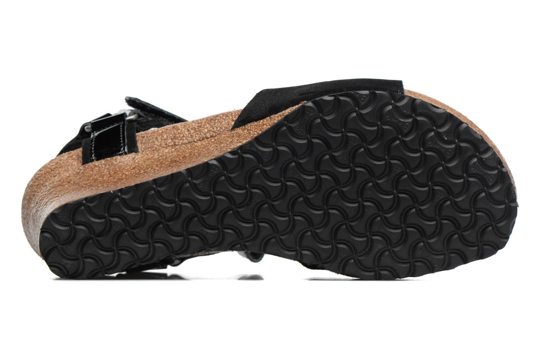 Sandalen Papillio EVE schwarz ansicht von oben