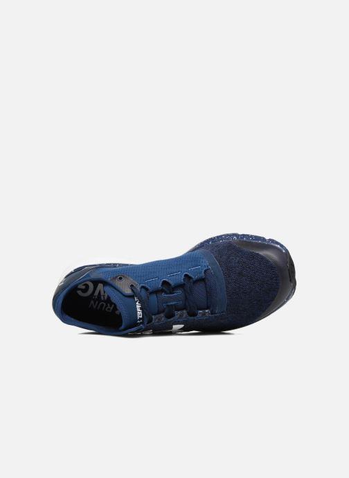 Sportschoenen Under Armour Charged Bandit 2 Blauw links