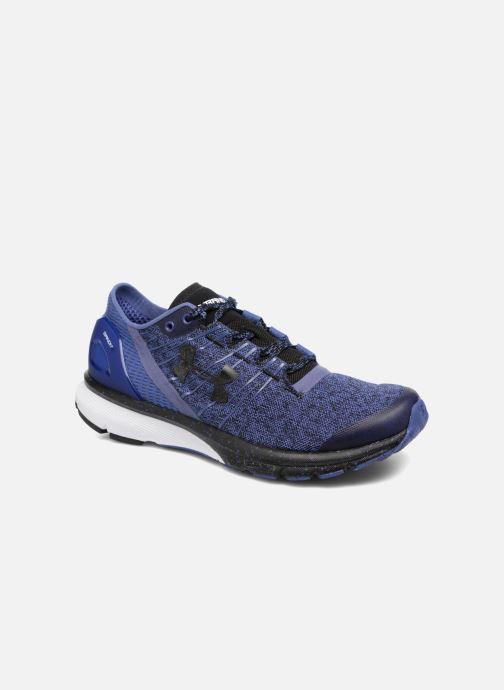 Chaussures de sport Under Armour Charged Bandit 2 W Bleu vue détail/paire