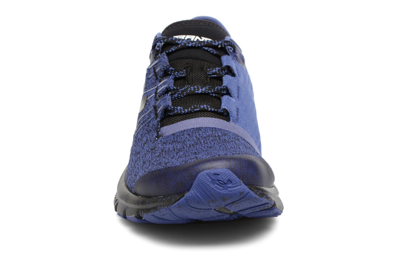 Chaussures de sport Under Armour Charged Bandit 2 W Bleu vue portées chaussures