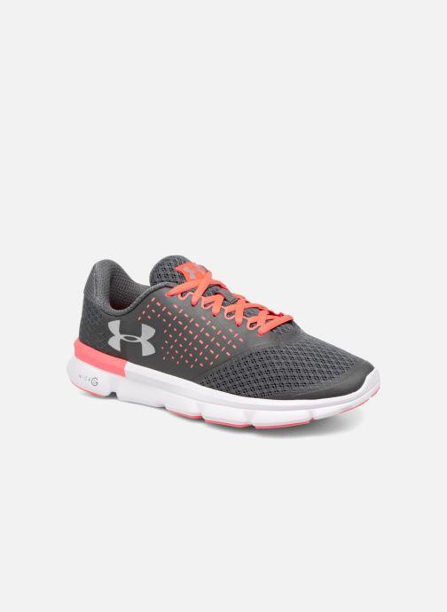 Chaussures de sport Under Armour Micro G Speed Swift 2 W Gris vue détail/paire