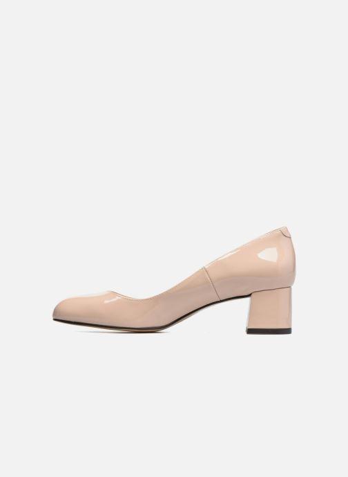 High heels Georgia Rose Slico Beige front view
