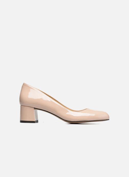 High heels Georgia Rose Slico Beige back view