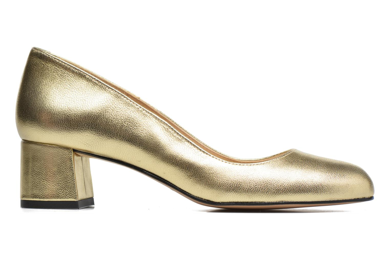 High heels Georgia Rose Slico Bronze and Gold back view