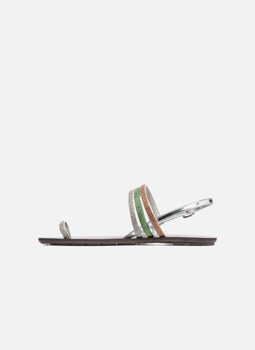 Sandales et nu-pieds Chattawak Nina Vert vue face