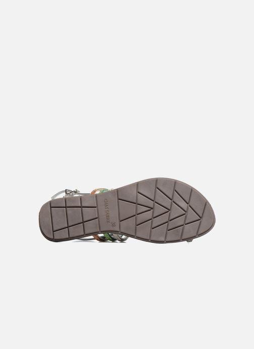 Sandales et nu-pieds Chattawak Nina Vert vue haut