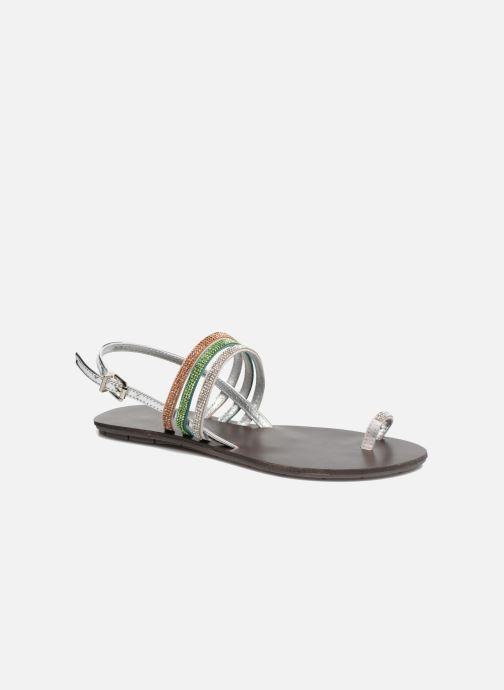 Sandales et nu-pieds Chattawak Nina Vert vue détail/paire