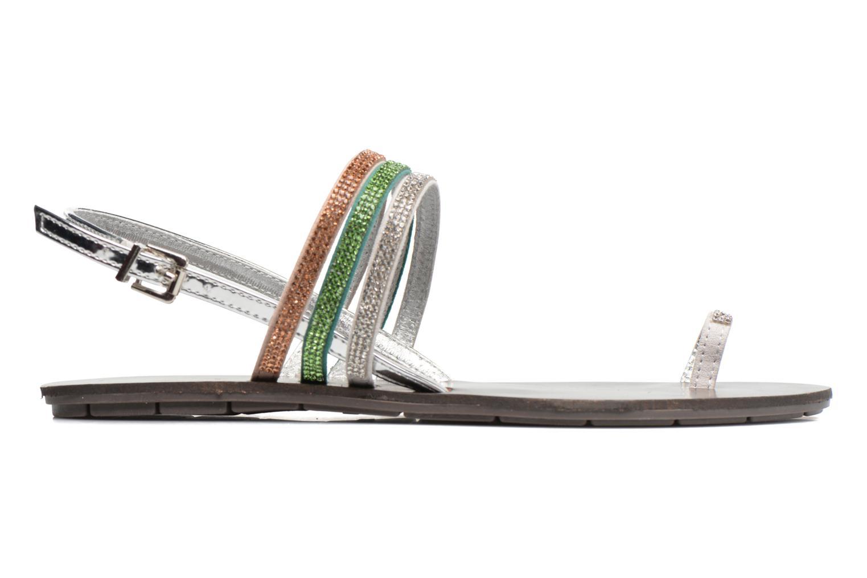 Sandales et nu-pieds Chattawak Nina Vert vue derrière