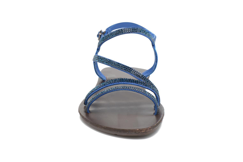 Sandali e scarpe aperte Chattawak Nelly Azzurro modello indossato