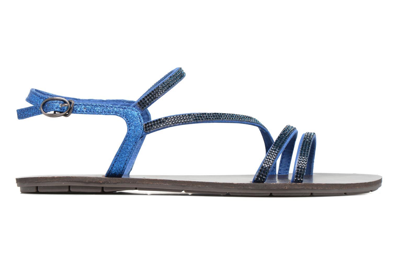 Sandalen Chattawak Nelly blau ansicht von hinten