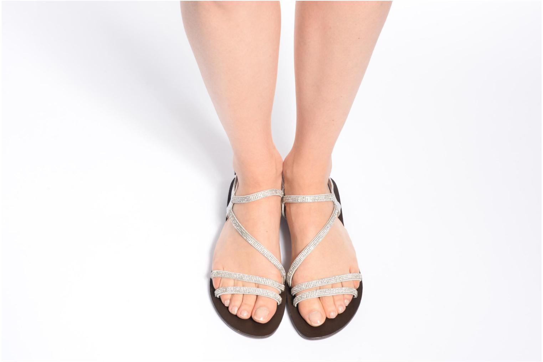 Sandali e scarpe aperte Chattawak Nelly Argento immagine dal basso