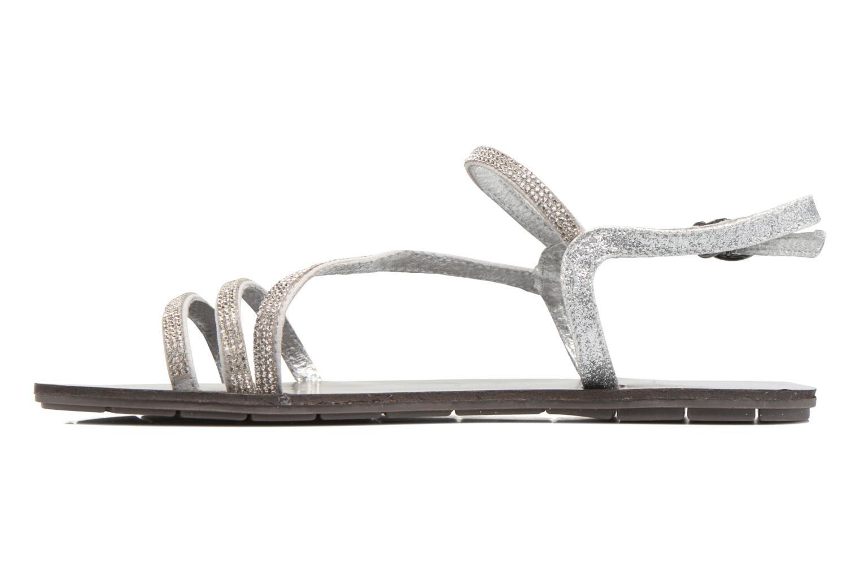 Sandali e scarpe aperte Chattawak Nelly Argento immagine frontale