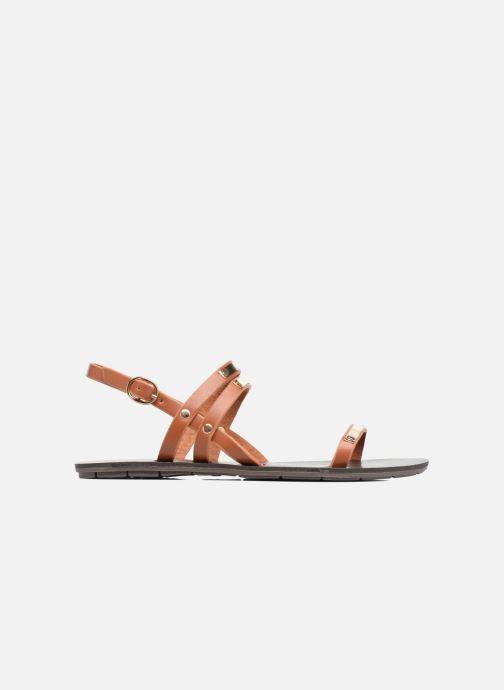 Sandales et nu-pieds Chattawak Lydie Marron vue derrière
