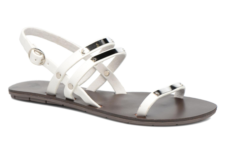 Sandaler Chattawak Lydie Hvid detaljeret billede af skoene