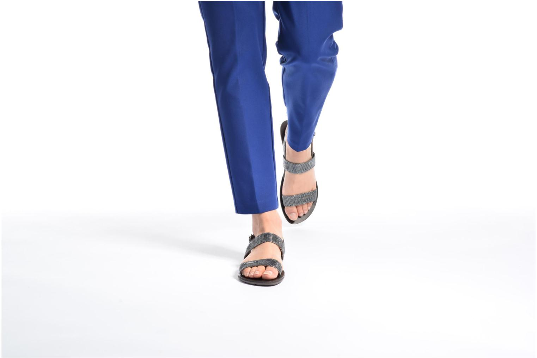 Sandali e scarpe aperte Chattawak Nadine Grigio immagine dal basso