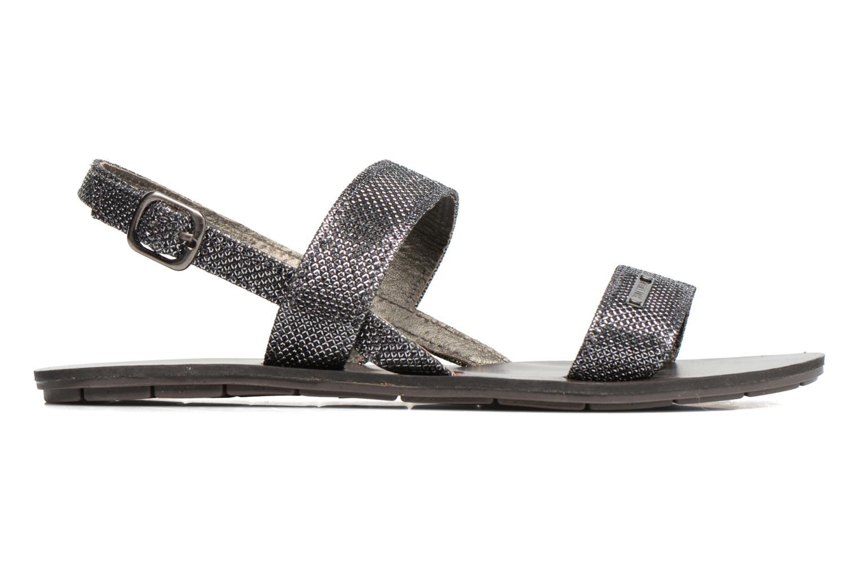 Sandales et nu-pieds Chattawak Nadine Gris vue derrière