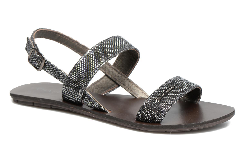 Sandales et nu-pieds Chattawak Nadine Gris vue détail/paire