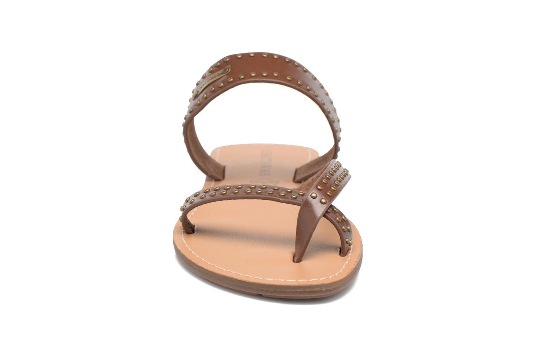 Sandalen Chattawak Pamela braun schuhe getragen