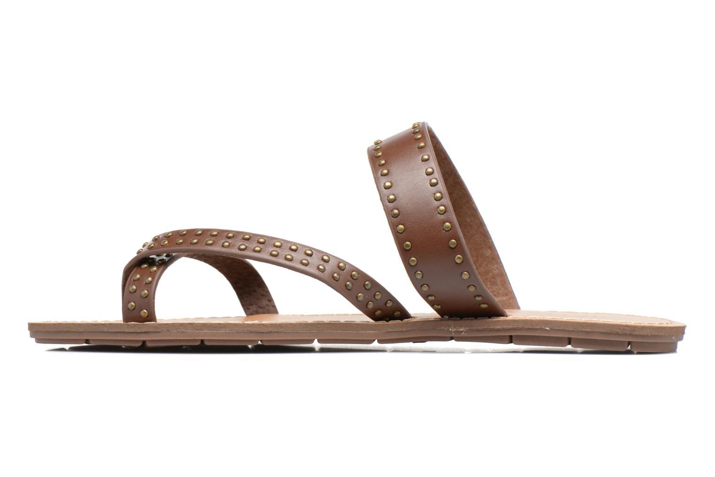 Sandalen Chattawak Pamela braun ansicht von vorne