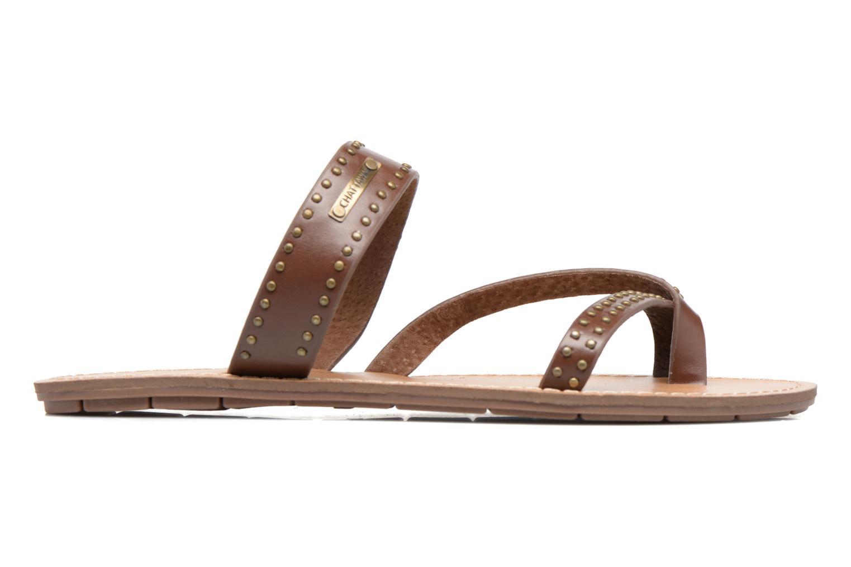 Sandalen Chattawak Pamela braun ansicht von hinten