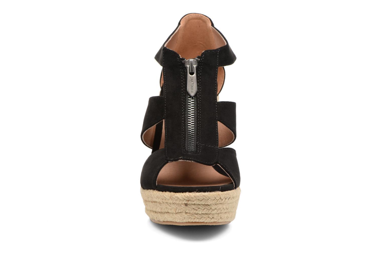 Sandalen Chattawak Debby schwarz schuhe getragen