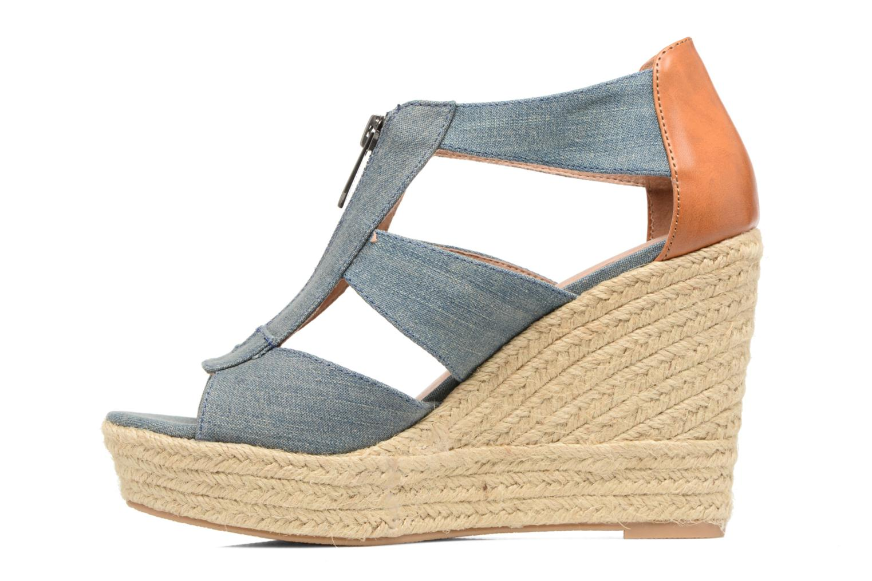 Sandali e scarpe aperte Chattawak Debby Azzurro immagine frontale
