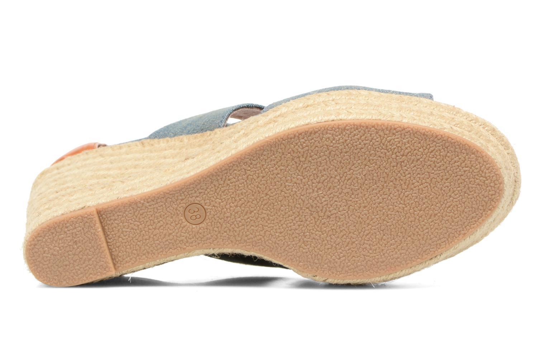 Sandalen Chattawak Debby Blauw boven
