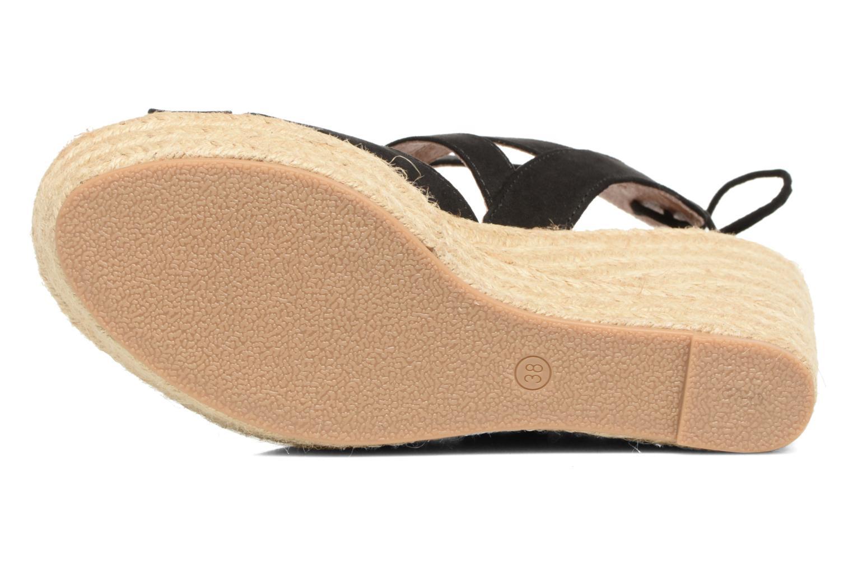 Sandalen Chattawak Joyce Zwart boven