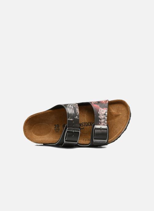 Sandali e scarpe aperte Birkenstock Arizona  Birko Flor Nero immagine sinistra