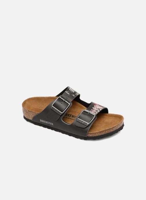 Sandali e scarpe aperte Birkenstock Arizona Birko Flor Nero vedi  dettaglio paio 5e5895ed4be