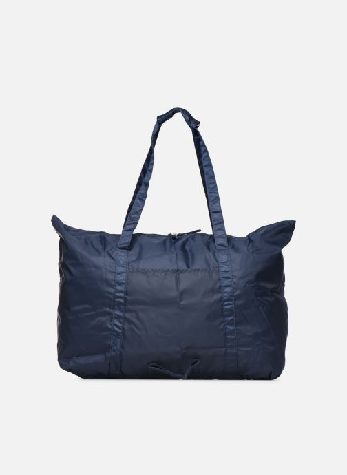 Luggage Bensimon Extra bag L Weekender pliable Blue front view