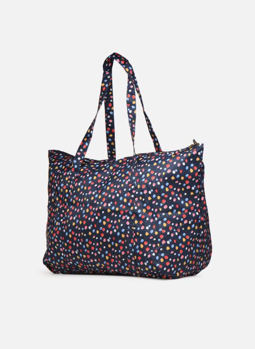 Reisegepäck Bensimon Extra bag L Weekender pliable blau schuhe getragen