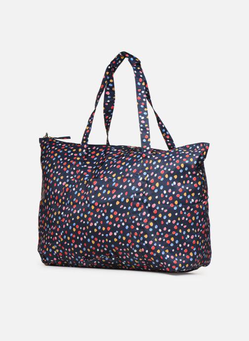 Reisegepäck Bensimon Extra bag L Weekender pliable blau ansicht von rechts